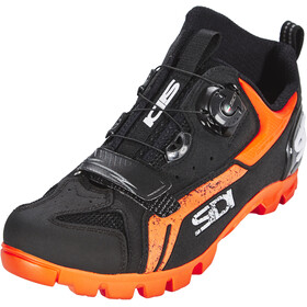 Sidi MTB Defender kengät Miehet, black/orange